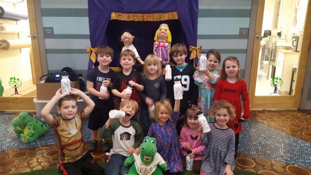 National Children's Dental Health Month Puppet Show