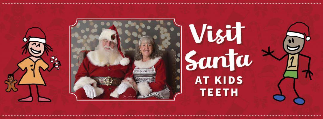 Santa at Kids Teeth