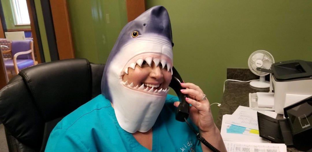 Sharks Teeth in Kids