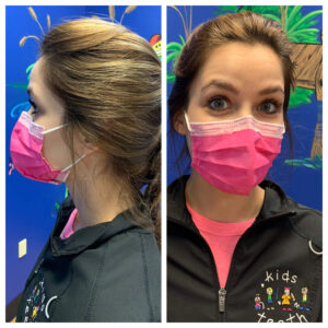 Kids Teeth Proper Mask Fit