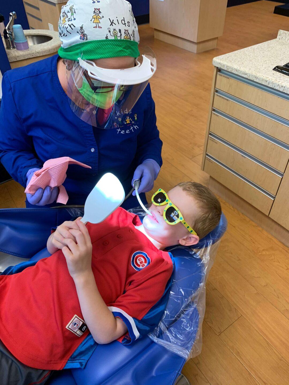 Kids Teeth Dental Visit