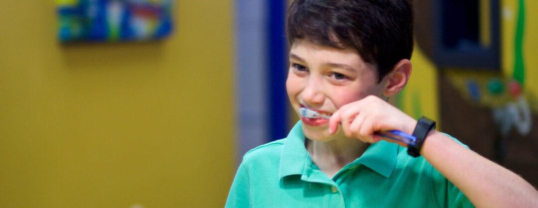 Brushing Teeth at Kids Teeth